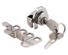 Bright Nickel C8730 10 sets Lot of 10 NEW MAILBOX LOCKS by COMPX NATIONAL