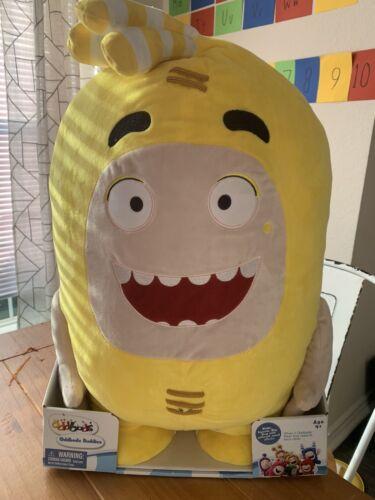 "Yellow 24"" Soft Toy Interactive Voice /& Motion ODDBODS Plush Buddies BUBBLES"