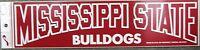 Mississippi State Bulldogs Vintage Bumper Sticker Rare Free Shipping