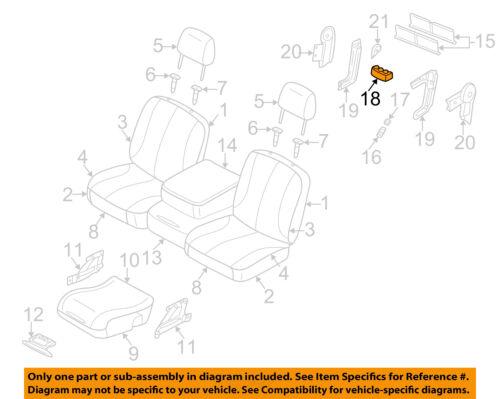 Dodge CHRYSLER OEM 03-09 Ram 3500 Front Seat-Coin Holder 5080638AA