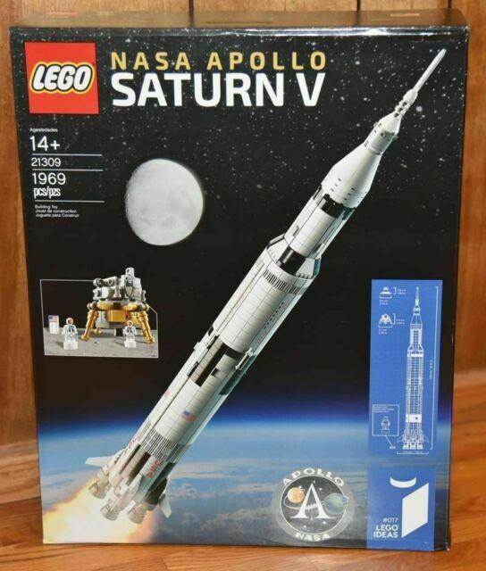 BRAND NEW FACTORY SEALED LEGO IDEAS 21309 NASA APPOLA SATURN V ROCKET SHIP