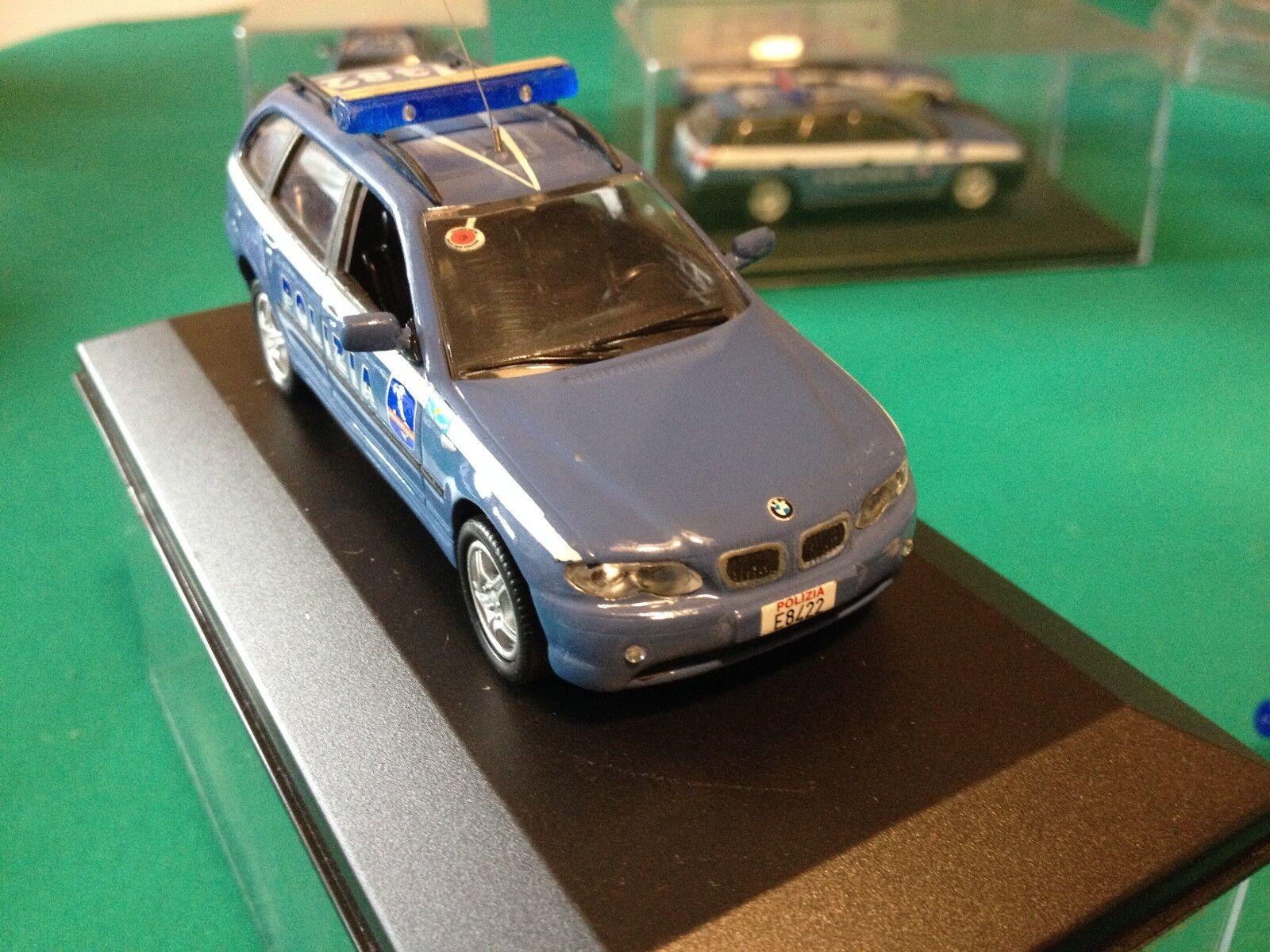 BMW E 46 TOURING 1 SERIE POLIZIA AUTOSTRADALE POLICE SCALA