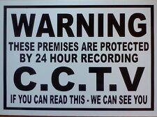 Advertencia C.c.t.v. STICKER/DECAL