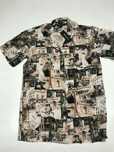 MOTEL-ROCKS-Fresia-Paris-Print-Dress-Size-Small-S-MR68