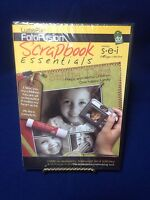 Scrapbook Essentials Tool Arts Crafts Fotofusion Lumapix Cd_rom Sealed