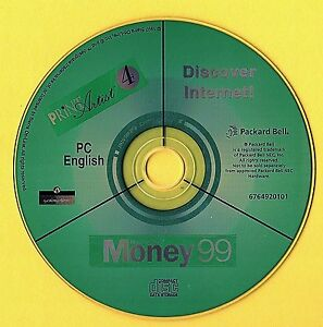 Money-99-Discover-Internet-Print-Artist-Computer-Disc-Rom-NO-COVER-Windows-95-98