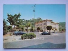 PEDASO piazza Roma auto automobile vecchia cartolina