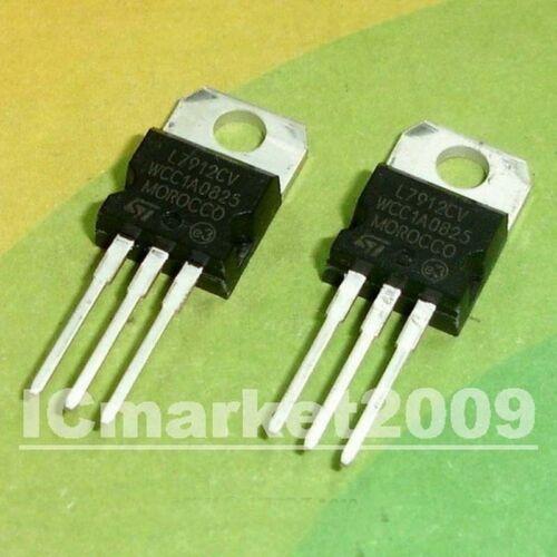 10 PCS L7912CV TO-220 L7912 7912 LM7912 Negative voltage regulators
