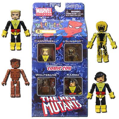 Marvel Minimates New Mutants 4-Pack 2010 New York Comic Con Exclusive