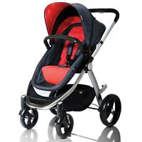 Mountain Buggy 2014 Cosmopolitan Buggy - Chilli - Brand Free Shipping