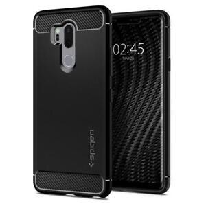 LG-G7-ThinQ-Case-Spigen-Rugged-Armor-Cover-Case-Noir
