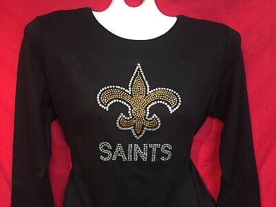 saints rhinestone shirt