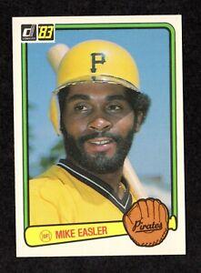 1983-Donruss-221-Mike-Easler-Pittsburgh-Pirates-Baseball-Card-NM-MT