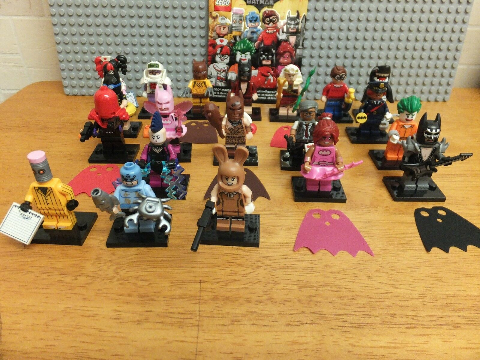 Lego The Batman Movie Series Complete Set Of 20 Minifigures