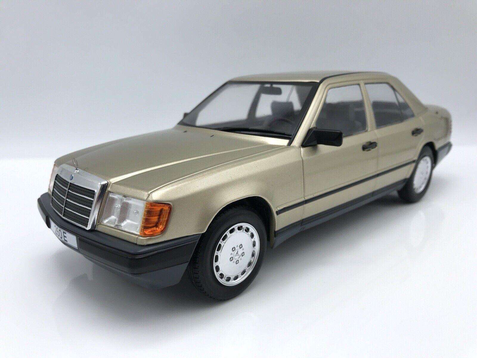 Mercedes Benz 260 E W124 1984 met. - Light Brown 1 18 MCG 18098  NEW