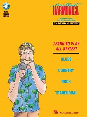 Musical Instruments & Gear Energetic Instant Harmonica Harmonica Book And Audio New 000695103 Products Are Sold Without Limitations