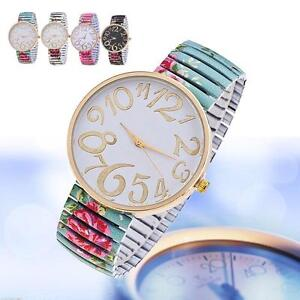 fashion-women-watches-For-Geneva-stretch-band-flower-dial-floral-printed-hot-ZH