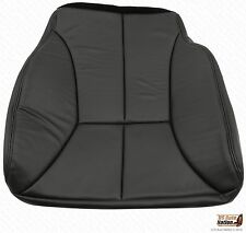 1998 99 2000 Dodge Ram 1500 2500 3500 Driver Bottom Leather Seat Cover Dark Gray
