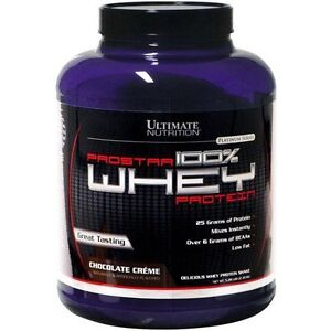 Ultimate Nutrition Prostar 100% Whey Protein 5lbs Chocolate Creme