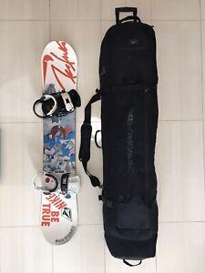 bandera nacional Humedad frente  Nike Bolsa De Tabla De Snowboard Bolso De Rodillo | eBay