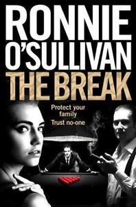 Signed-Book-The-Break-by-Ronnie-O-039-Sullivan-First-Edition-1st-print