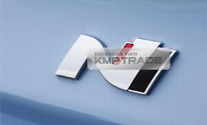 Rear Trunk Front Side N Emblem Acrylic Badge for HYUNDAI Elantra GT Veloster N