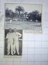 1928 Lawn Tennis On The Riviera, Louis And Karel Kozeluh