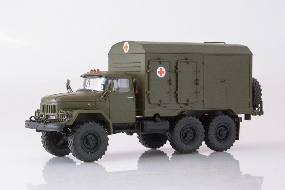 Modelpro 0050MP 1 43  ZIL 131 DDA-3 Ambulance (USSR RUSSIAN voiture)  édition limitée chaude