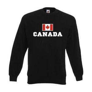 Fanshirt Kanada canada Flagshirt Fan Pullover Felpa wms02 33c Pulli 5tdq4zdH