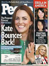 KATE MIDDLETON PREGNANT PRINCE GEORGE WILLIAM PEOPLE 2014 EBOLA GLENN CLOSE