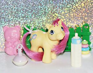 Mein kleines/ My Little Pony G1 German Nestie *Baby Bye Byes / Schlummerlein*