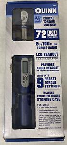 Quinn 64915 3/8 inch Drive Digital Torque Wrench