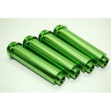 AXIAL AX10 GREEN ALUMINUM SHOCK BODY SET 4PCS AX012G AX80013 AX30122