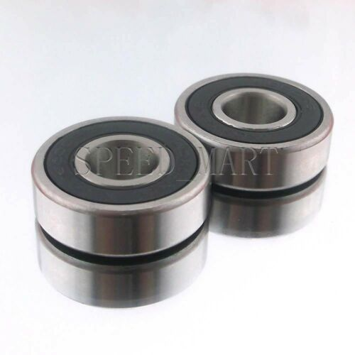 25mm*47mm*12mm 2PCS 6005-2RS 6005RS Deep Groove Rubber Shielded Ball Bearing