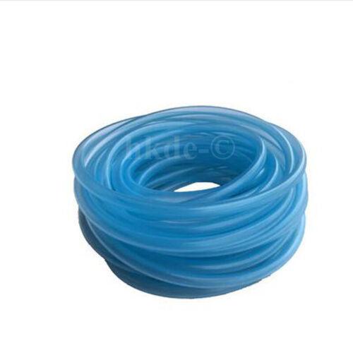 Silicone Rubber Vacuum Hose Food Grade Tube Pipe Fish Car Aquariums Air sky-blue