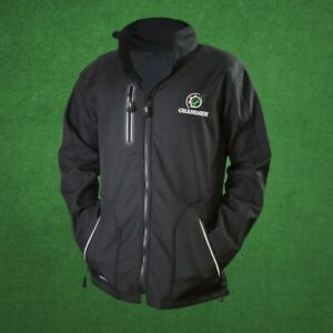 Official-Grassmen-Black-Soft-Shell-Jacket-Sizes-L-XL-Farming-Coat-Winter-Farming