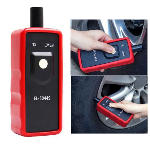 EL50449 Car Vehicle TPMS Reset Tool Tire Pressure Sensor Relearn Activation Tool
