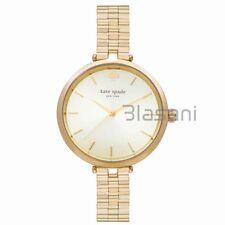 Kate Spade Original 1YRU0858 Women's Holland Gold Stainless Skinny Strap Watch