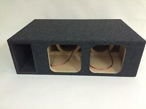 Kicker solo baric l7 l5 dual 8 ported subwoofer box ebay for L ported box calculator