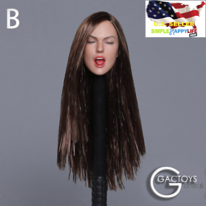 Gactoys-gc025-B-1-6-sexy-Zunge-Female-Head-Sculpt-12-034-Figur-Phicen-USA