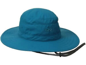 0da906763df5f Outdoor Research Women s Solar Roller Sun Hat Alpine Lake Dark Grey ...