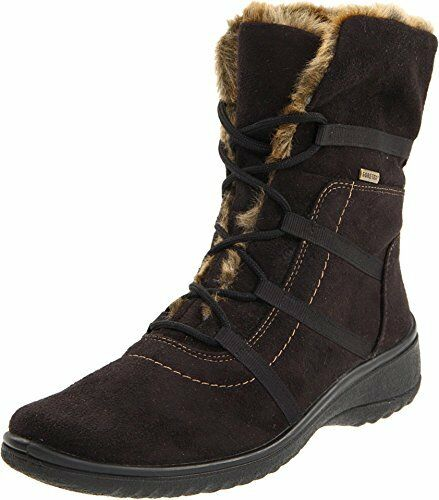 ARA WOMEN'S MAGALY WATERPROOF MID BOOT W GORE-TEX LACE UP, LIGHTWEIGHT SOLE