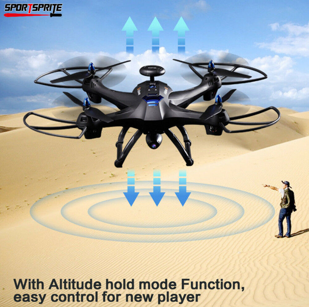 Global Drone X183 5.8GHz WiFi FPV 1080P 2MP Camera GPS Brushless Quadcopter