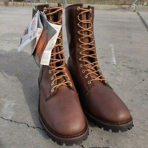 Whites-Hathorn-Explorer-Brown-Boots-Leather-Packer-Logger-Woodland-Mens-EE-Width