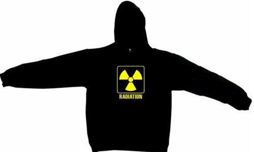 Radiation Symbol Logo Men/'s Hoodie Sweat Shirt Pick Size Small-5XL