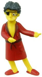 Simpsons 20th Anniversary Figurines Series 11-15 Handsome Moe figure (w/ Tag)