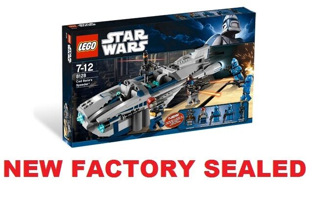 LEGO STAR WARS Cad Bane's Speeder 8128 Shahan Alama Minifig FACTORY SEALED NEW @