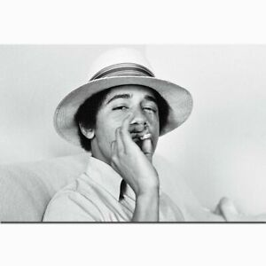 New Young Obama Silk Poster Custom Wall Decor