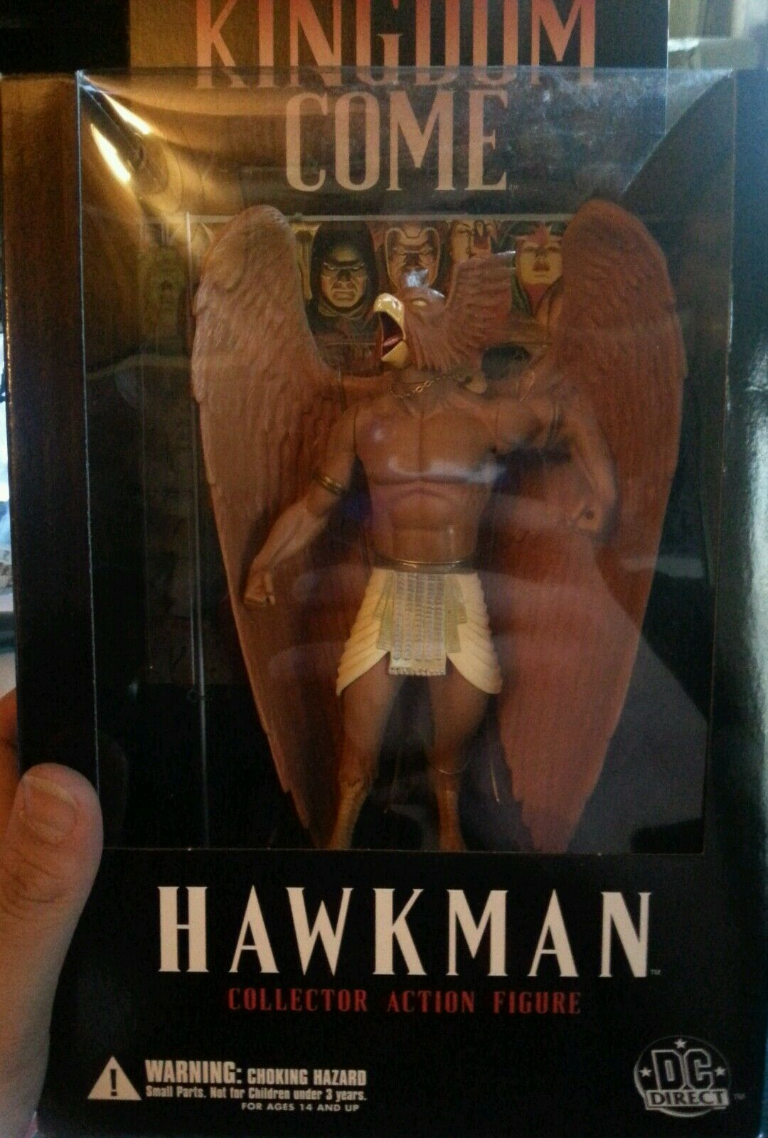 KINGDOM COME HAWKMAN DC DIRECT collector action figure