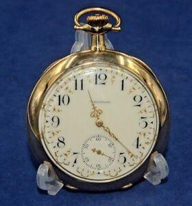 Responsible Antique 1908 Vtg Waltham 17j Royal Dubois Solid 14k Gold 12s Pocket Watch 63g By Scientific Process Watches, Parts & Accessories Antique